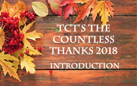 TCT's The Countless Thanks 2018: Introduction