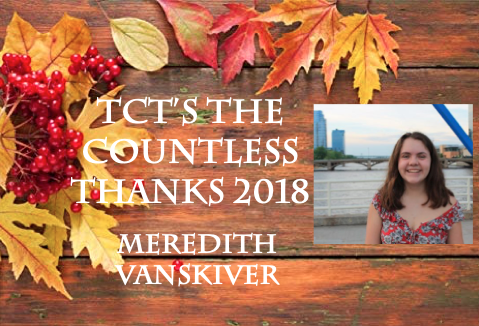 TCT's The Countless Thanks 2018: Meredith VanSkiver