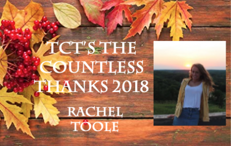 TCT's The Countless Thanks 2018: Rachel Toole