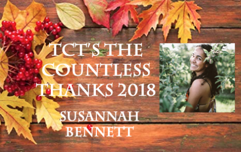 TCT's The Countless Thanks: Susannah Bennett