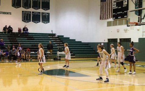 Girls JV basketball goes 1-1 against Grandville and FHE