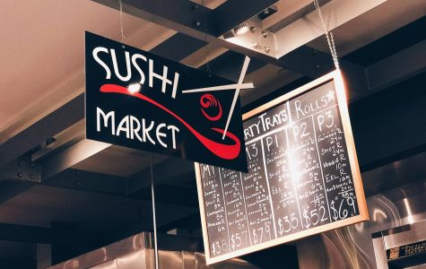 Sushi Market at the Downtown Market serves the perfect sushi