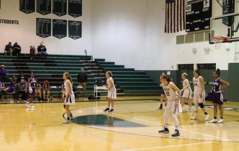Girls JV basketball starts season off with win against Wyoming 32-26