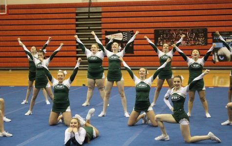 Competitive cheer takes seventh at first competition