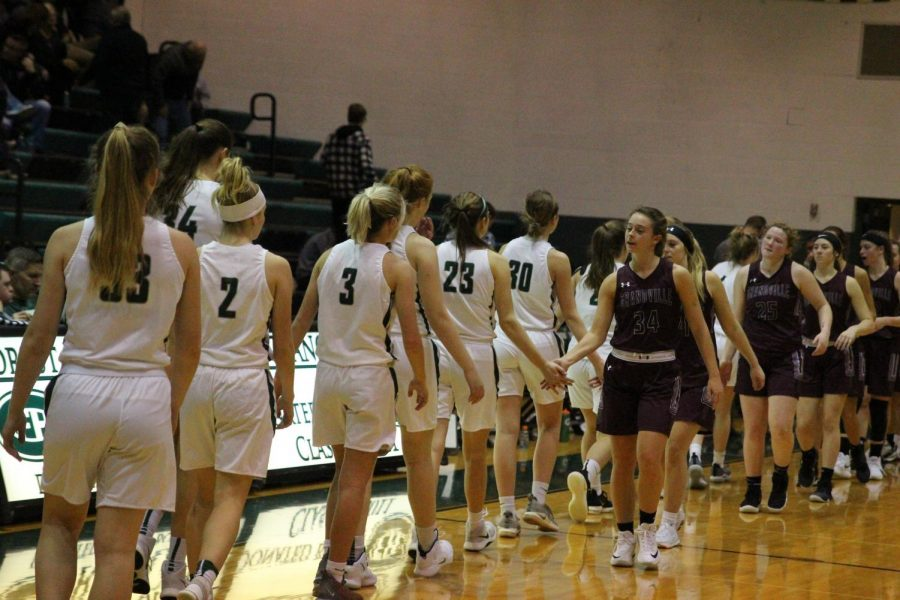 Girls+varsity+basketball+takes+down+Grandville+66-51+in+offensive+showing