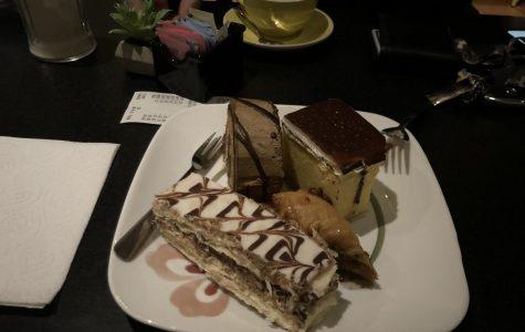 Paris Café and Desserts astounds me with a unique variety