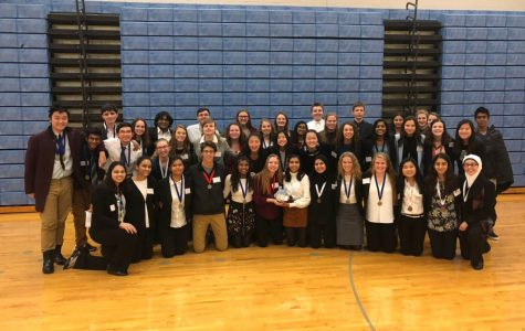 This year's HOSA team dominates at their first competition