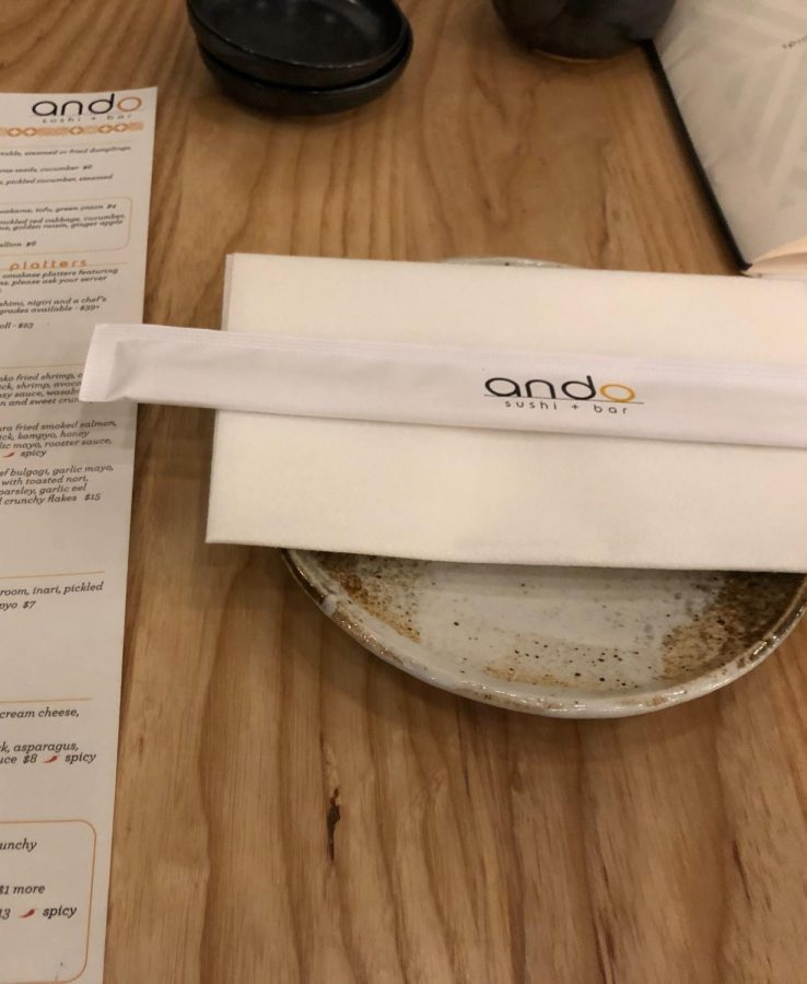 Ando Sushi + Bar left me unfulfilled and disappointed