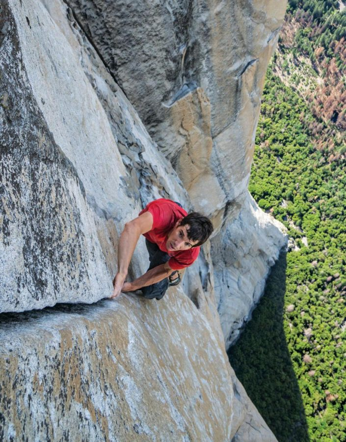 Free Solo is a fascinating biopic of Alex Honnold's unimaginable endeavor