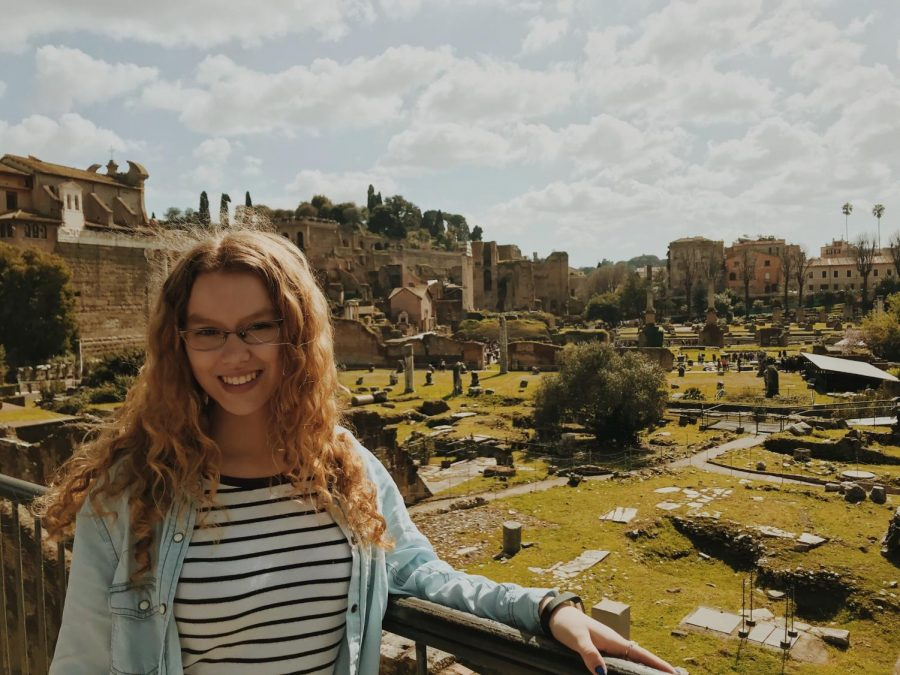 Sophomore Julia Beaumont explores the world