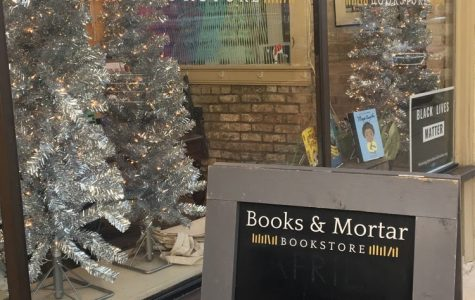 Books and Mortar lives up to the cozy vibes of a bookstore