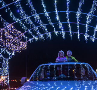 The Christmas Lite Show was a spectacular drive to witness