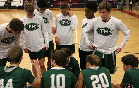 Boys JV basketball bounces back to demolish Covenant Christian 66-33