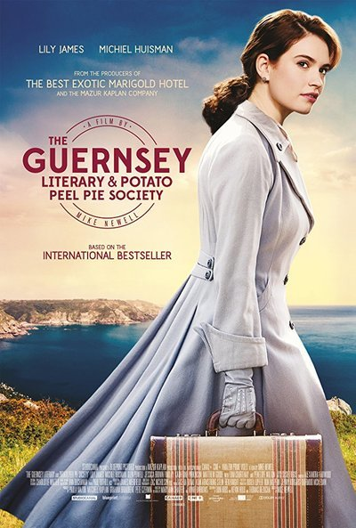 The Guernsey Literary and Potato Peel Pie Society is just as intriguing of a movie as the title entails
