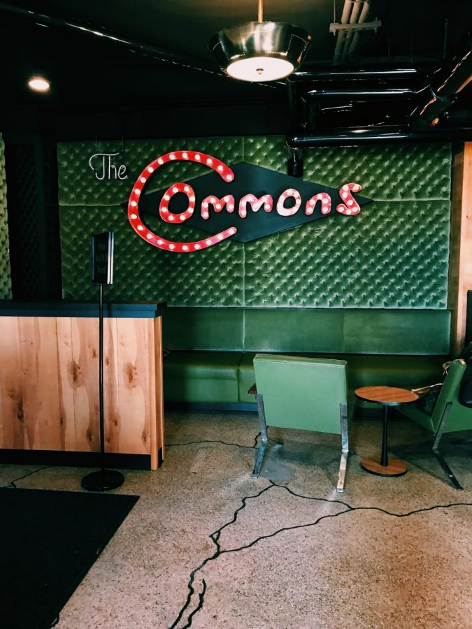 Located in an old apartment complex, The Commons was anything but common
