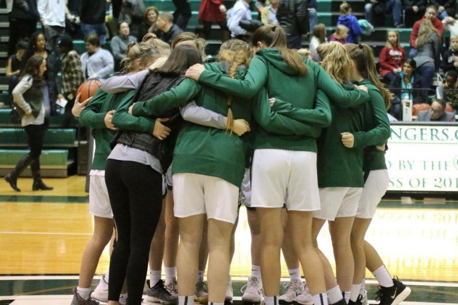 Girls varsity basketball has tough loss to EGR 61-44