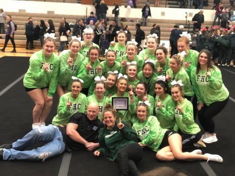 Competitive cheer places high at this weekend's LMCCOA Invite