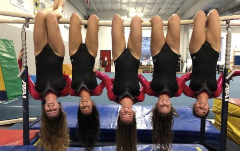 Gymnastics tumbles over Lowell for close win, 136.525-136.025