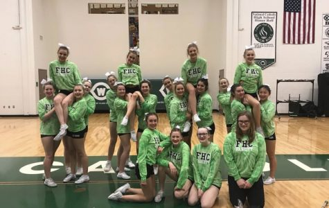 Competitive Cheer takes home third place at second OK White conference meet