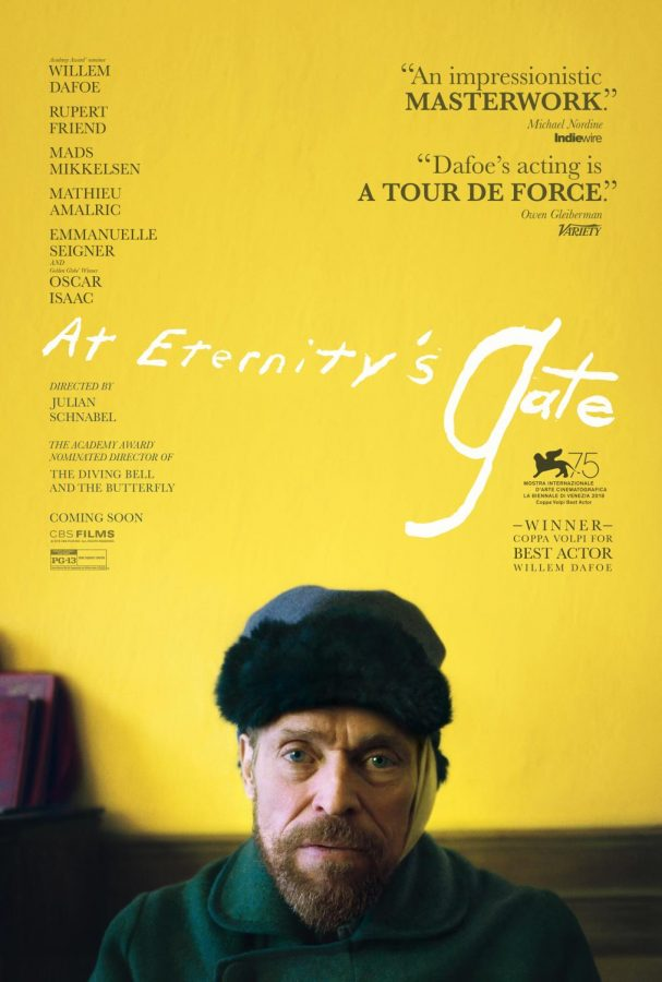 """""""At Eternity's Gate"""" is a beautiful, chaotic portrait of Vincent van Gogh in his final years"""