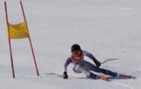 Ski team races past competition in yesterday's meet
