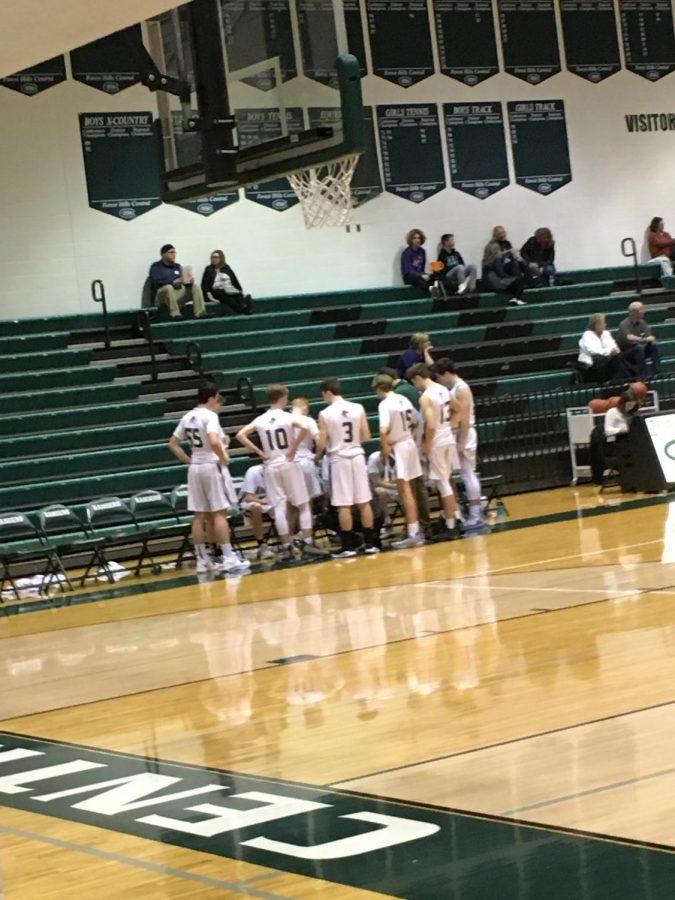 Boys freshman basketball rolls through Greenville 65-25