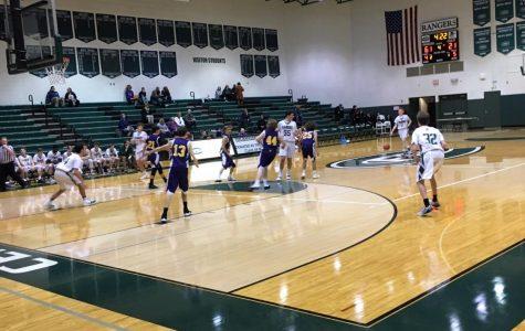 Boys freshman basketball shoots past Cedar Springs 58-29
