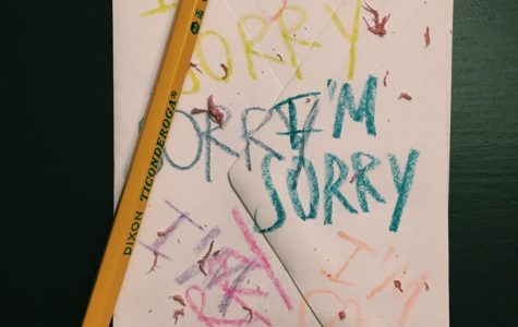 "I'm sorry that I can't stop saying ""I'm sorry"""