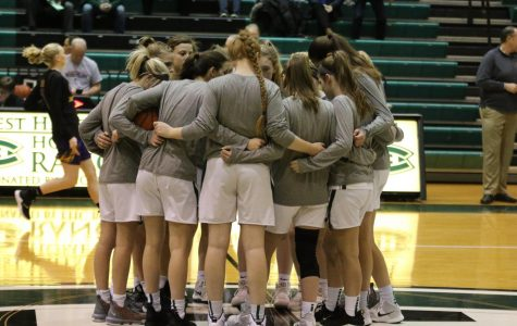 Girls varsity basketball gets upset for season-ending loss