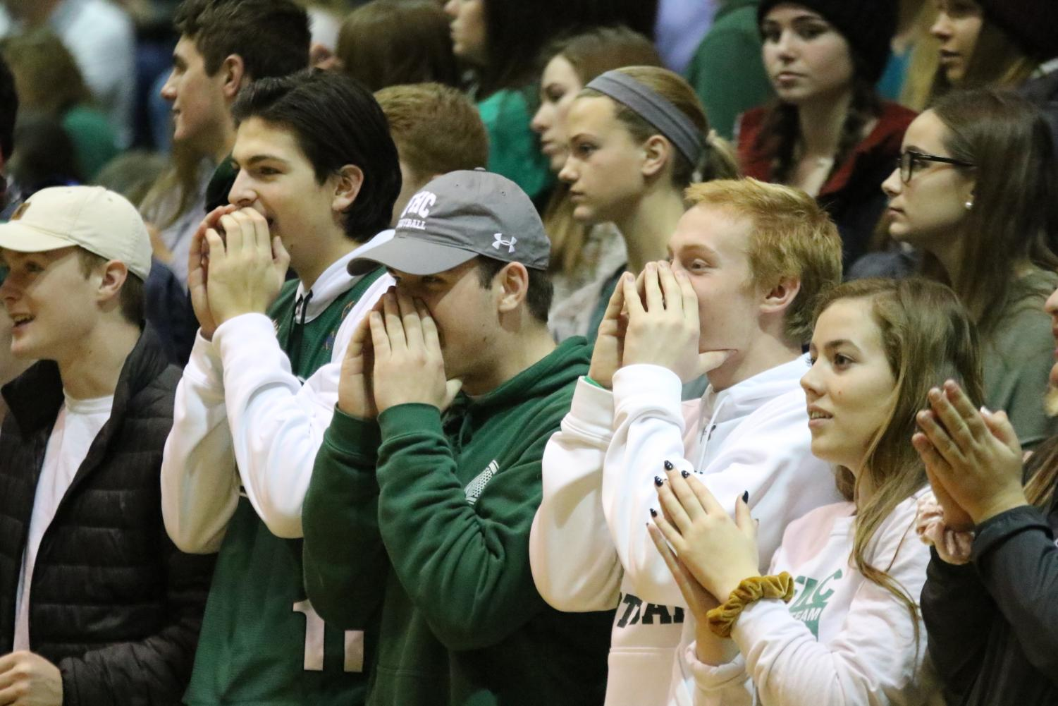 Student Section & Band – Feb. 15 2019
