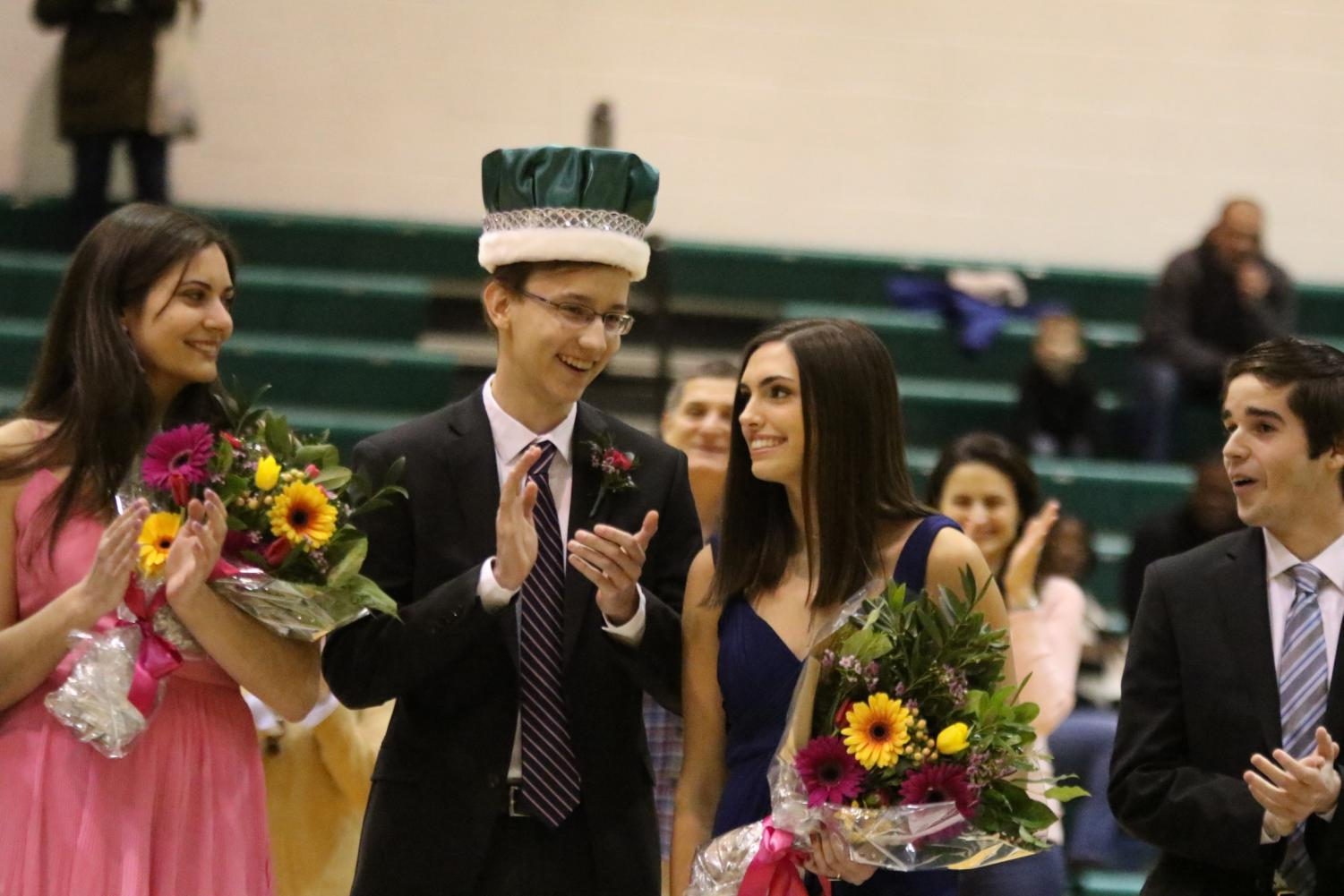 Winterfest King and Queen Announcement Photos