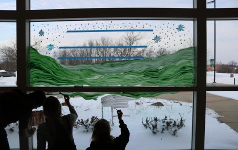 Window Painting - Winterfest 2019