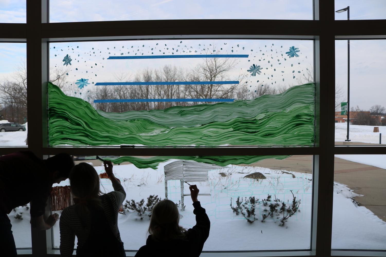 Window Painting – Winterfest 2019