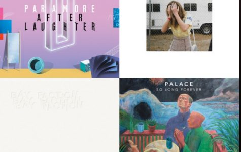 A reflection on a collection of my four favorite albums from the past month