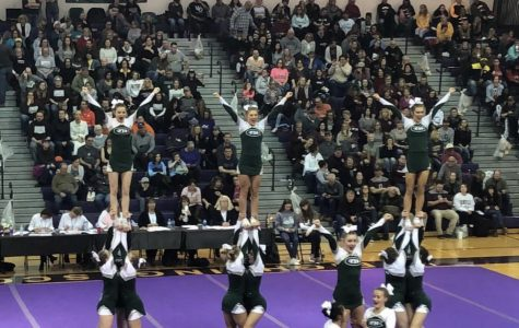 Competitive cheer takes second place at this weekend's competition