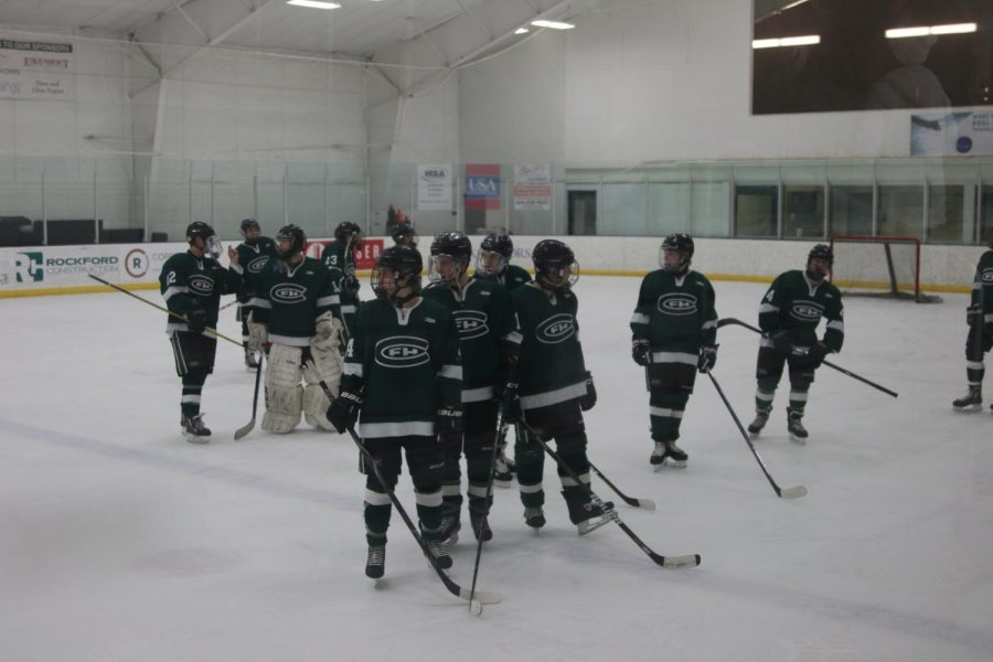 Hockey+ties+GR+Christian+in+regular-season+finale+on+Senior+Night
