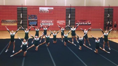 Competitive cheer takes second at conference meet