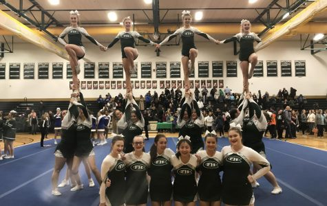 Competitive cheer advances to Regional Competition