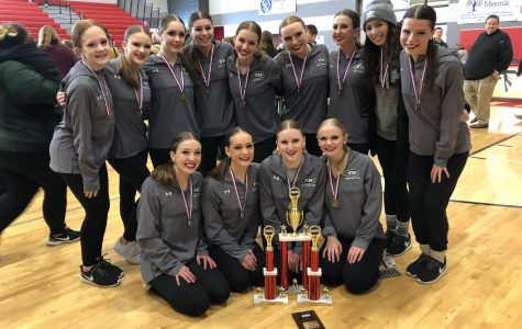 Dance team wins Grand Champions at St. John's Invitational