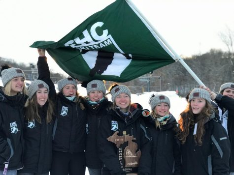 Ski team clinches first and seventh at this week's races