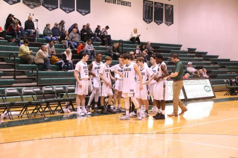 Boys JV basketball avoids scare against Greenville 53-47