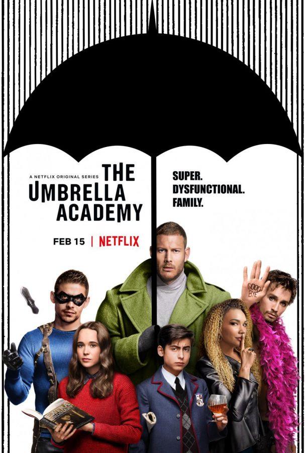 I thoroughly enjoyed nine of the ten episodes in Netflix's new show The Umbrella Academy