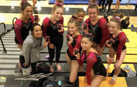 Gymnastics advances to State Championship after placing third at Regionals
