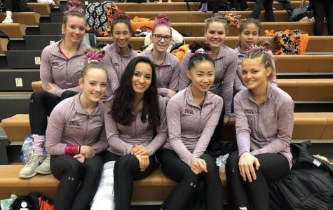 Gymnastics competes in State Meet after narrowly qualifying