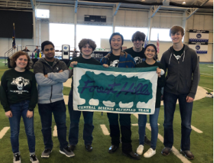 Science Olympiad continues to excel, securing a spot at states