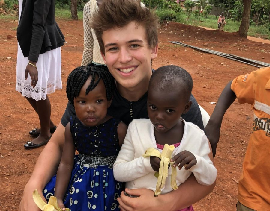 Sam Roub spends his spring break in Africa and discovers his next step in travel and service