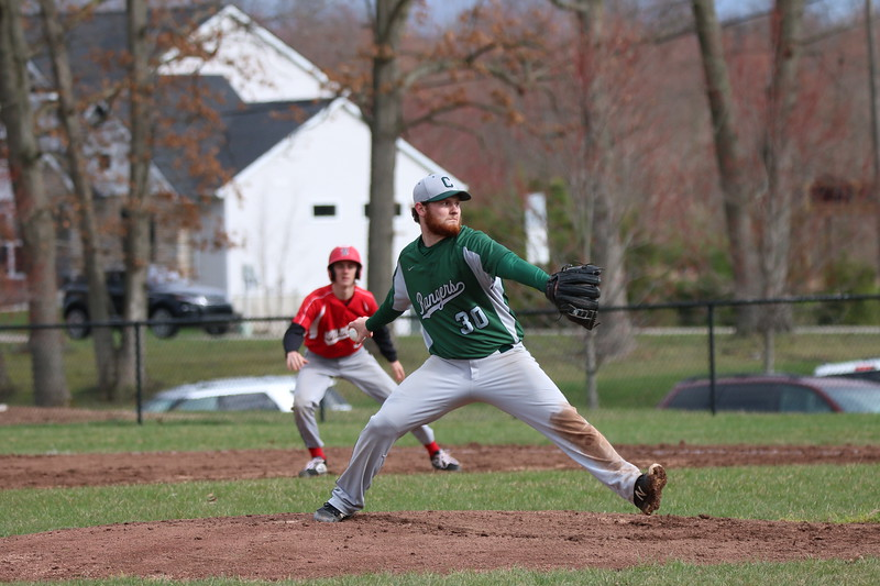 Varsity baseball takes the series against Cedar Springs with 9-0 win