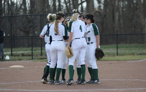 Varsity softball loses season-opener to Grandville 13-0