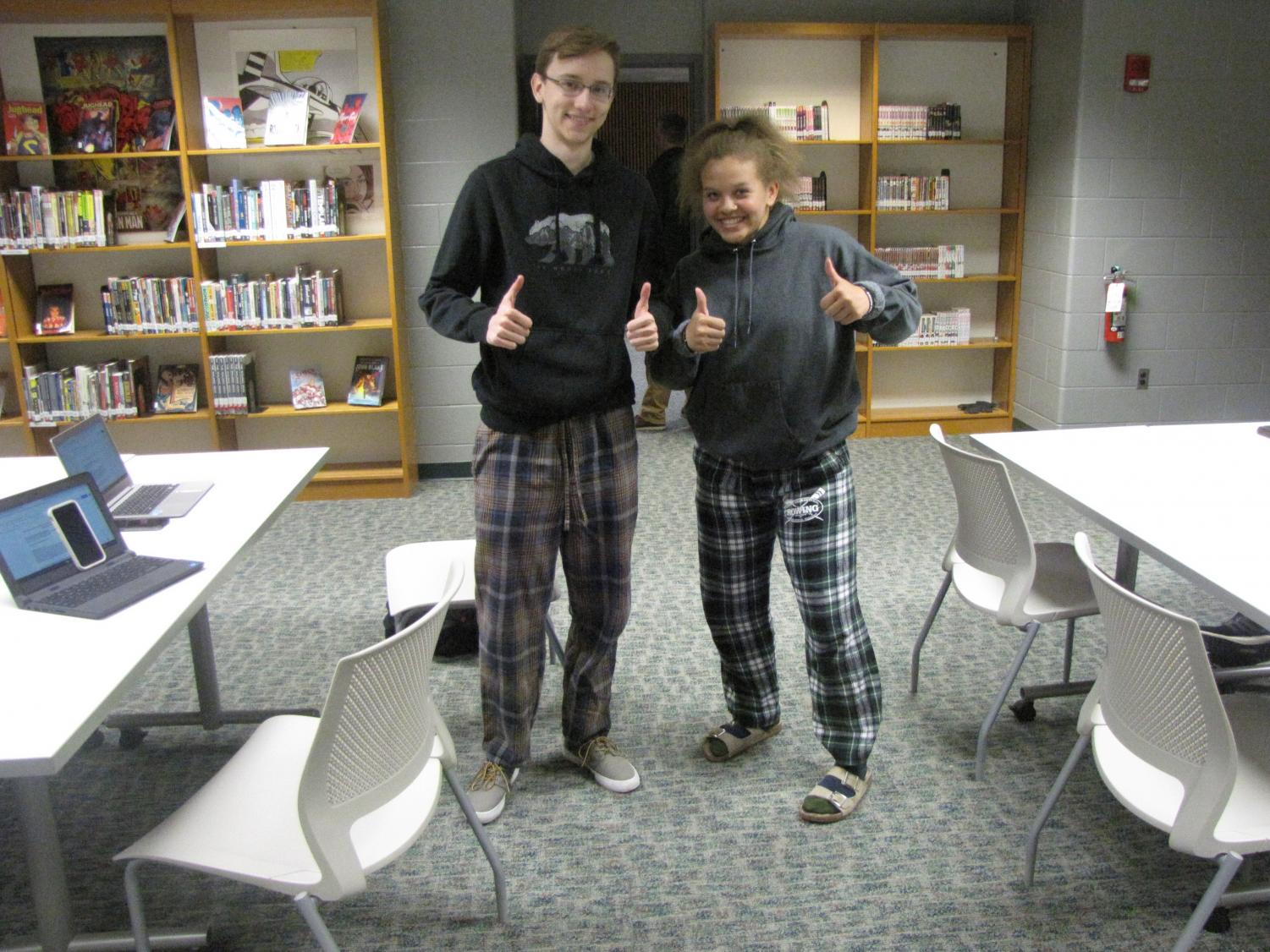 Prom Spirit Week 2019 – Day 1: Pajama Day