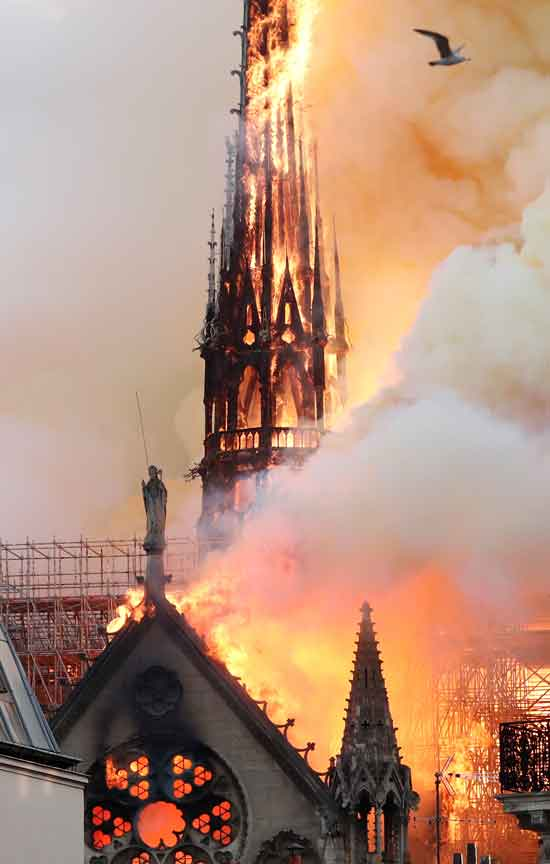 Image result for notre dame burning